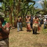 021. Maraki Vanuariki Council of Chiefs welcoming West Papua delegation to Farea ki Vete