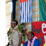 026. Jacob Rumbiak, Induction as Paramount Chief, with Domingos Arronggear