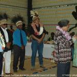 050. Gift Exchange, Jacob Rumbiak and Maraki Vanuariki Council of Chiefs, Port Vila 29 Nov 2007