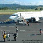 059. West Papua delegation leaving Port Vila