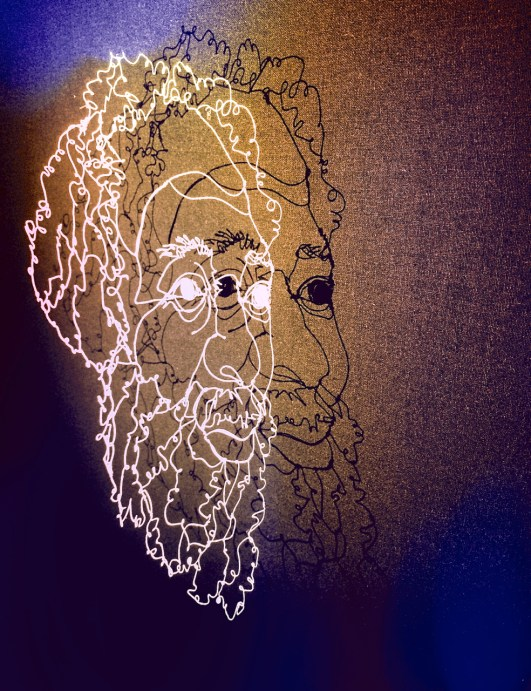 Jacob Rumbiak, West Papuan political prisoner (1989 ~ 1999) by Bronwen Benda