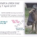 Open Day, 7 April 2019, Postcard