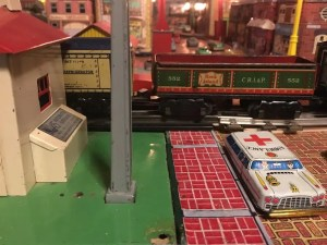 tin buildings for train layouts