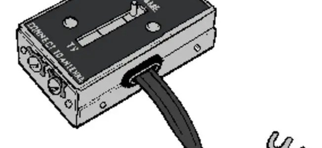 How to connect a Commodore 64 to a television