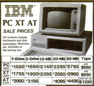 gray market IBM PC ad
