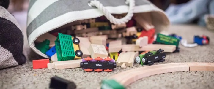 Buy wooden trains cheap