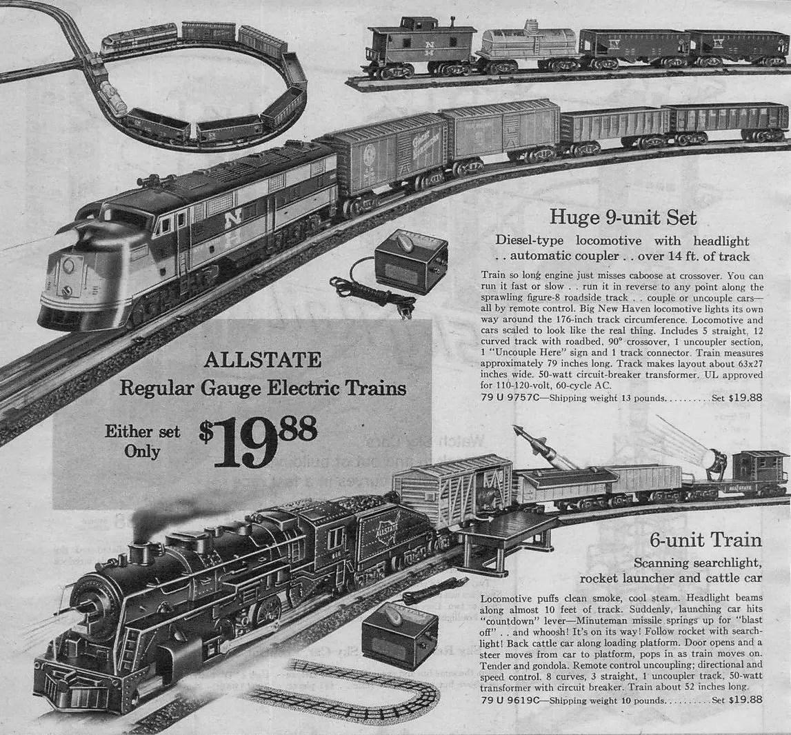 Allstate Electric Train Ad