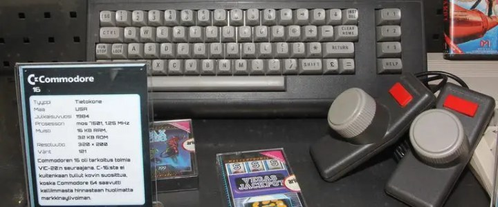 Commodore Plus 4 and Commodore 16