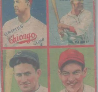 My second 1935 Goudey: Grimes, Klein, and Cuyler