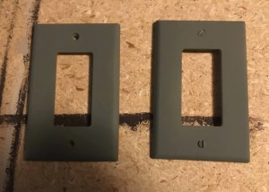 painting switch plates