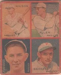 My fourth 1935 Goudey: Ethan Allen