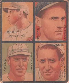 My fifth 1935 Goudey: Dazzy Vance