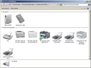 DD-WRT USB print server step 2 Win7