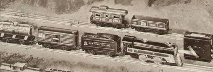 Marx train sizes