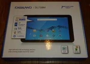 Digiland DL-718M box