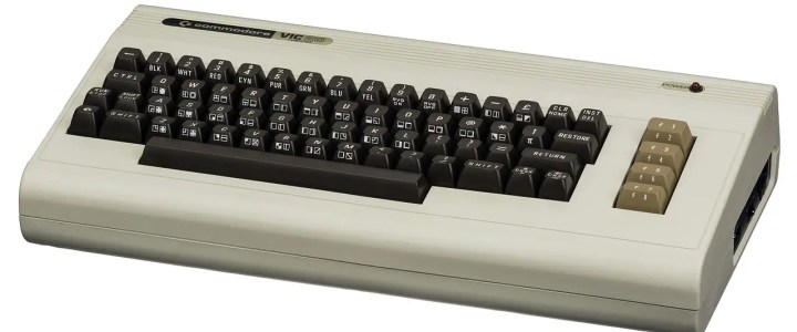 The first successful home computer: Commodore VIC-20