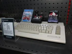 What is retro gaming? I think a Commodore 64 counts.
