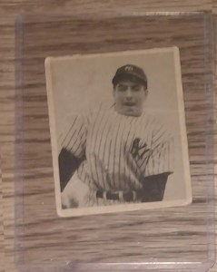 This 1948 Bowman Phil Rizzuto would sell rather easily, as it's a rookie card of a Hall of Famer who played in a large market.