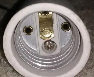 How a light socket works