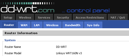 DD-WRT advantages