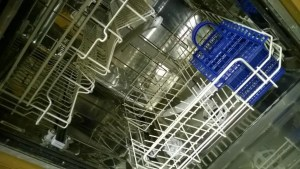 toothbrush in dishwasher