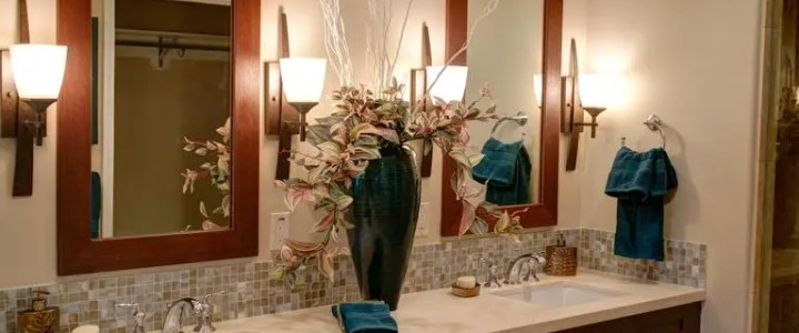 Fix bathroom light bulb flickering