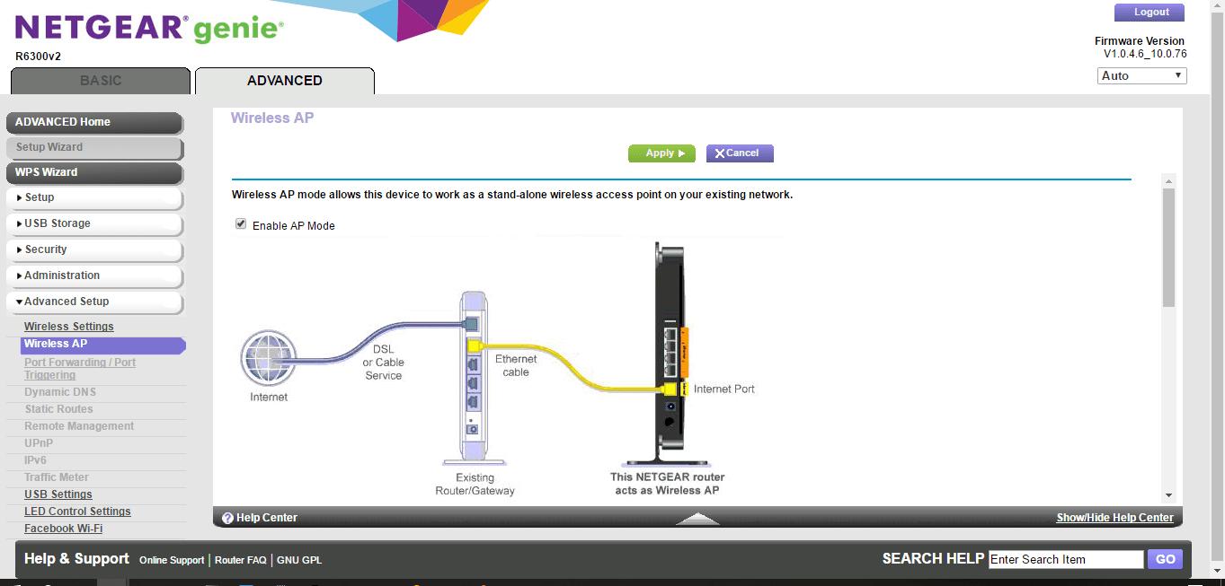Configure a Netgear R6300 as an access point - The Silicon