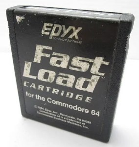 Epyx Fast Load cartridge for Commodore 64, 1984