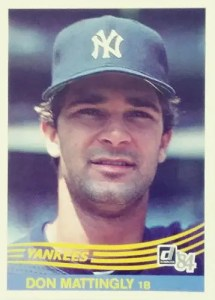 baseball card brands: Donruss