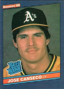 Most valuable baseball cards of the 1980s: Jose Canseco