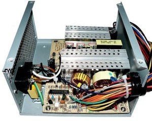 reliable power supply brands - inside a power supply