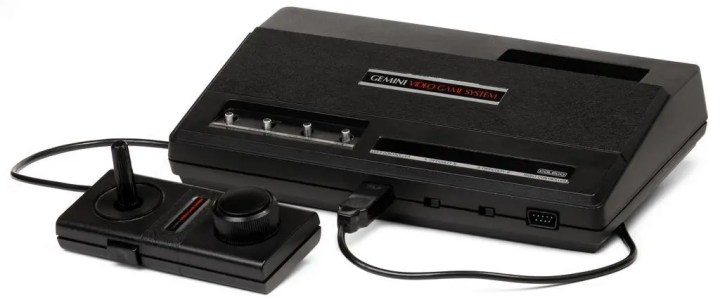 Coleco Gemini: An Atari 2600 clone from 1983