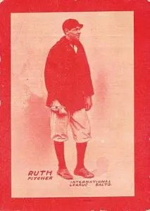 most valuable rookie card - 1914 Baltimore News Babe Ruth
