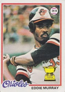 Most valuable baseball cards of the 1970s - Eddie Murray