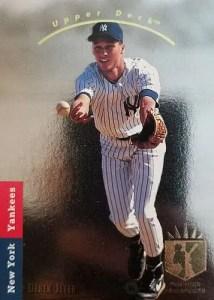 Most valuable baseball cards of the 1990s - Derek Jeter