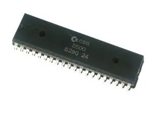 Commodore 64 CPU: the later MOS 8500