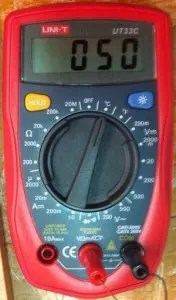 which wire is the hot wire? Is the black wire hot? Check with a multimeter.