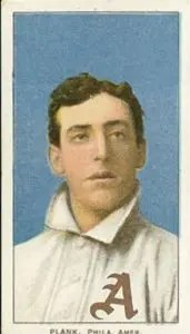 rarest baseball cards - Eddie Plank