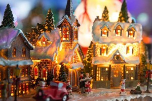 Christmas village set up tips - figures
