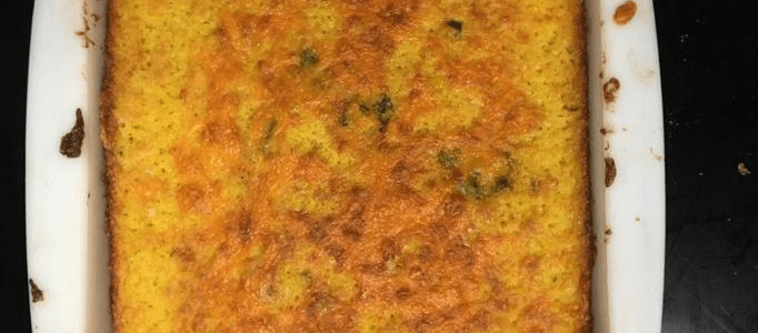 How many calories are in a full pan of cornbread?