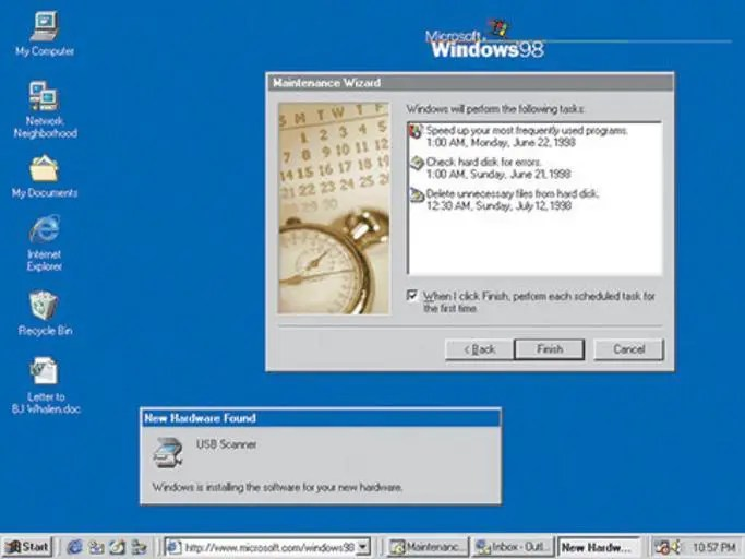 Windows 95 vs 98