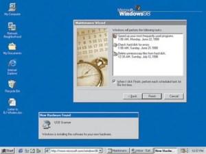 Windows 95 vs 98
