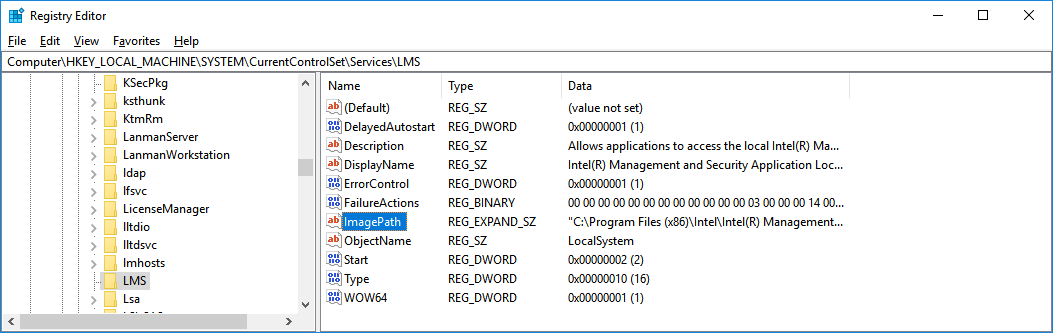 Windows unquoted search path fix