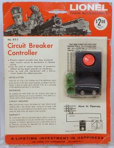lionel 92 circuit breaker instructions