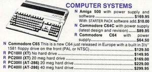 Commodore 65 from Grapevine Group