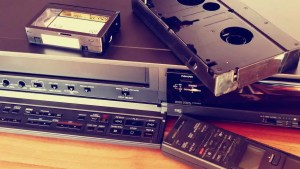 1980s technology -VCR