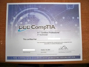 Best certifications to get - A+