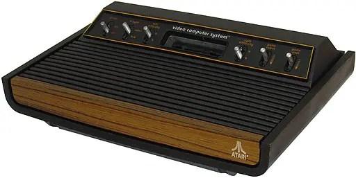 Original Atari 2600 heavy sixer