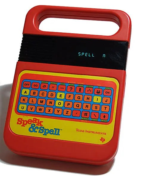 Texas Instruments Speak and Spell