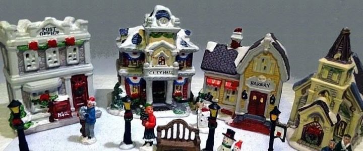 Dollar Tree Christmas village